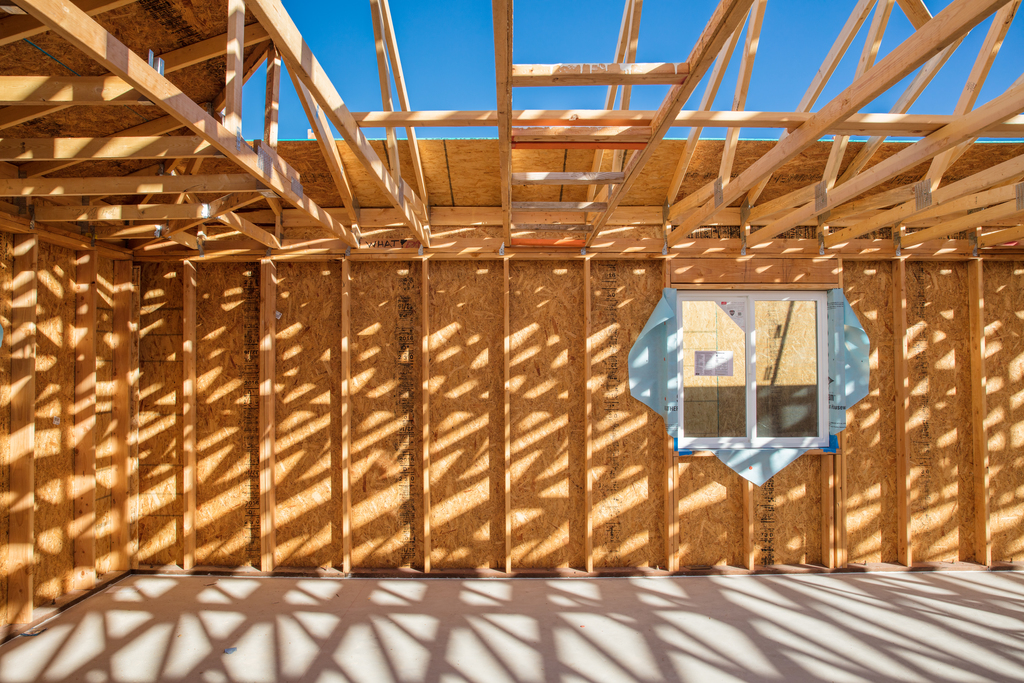TUCSON, ARIZONA, USA (12/8/16)-Habitat homes under construction in the Copper Vista neighborhood.